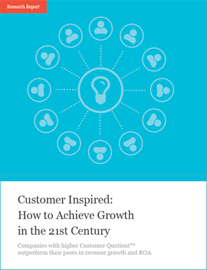 Customer Inspired: How to Achieve Growth in the 21st Century